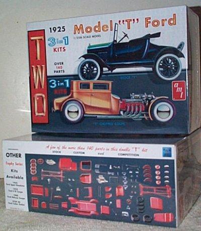 '25 Ford Model T 3'n 1 Model Kit