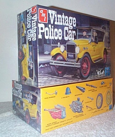 '27 Ford Model T Vintage Police Car