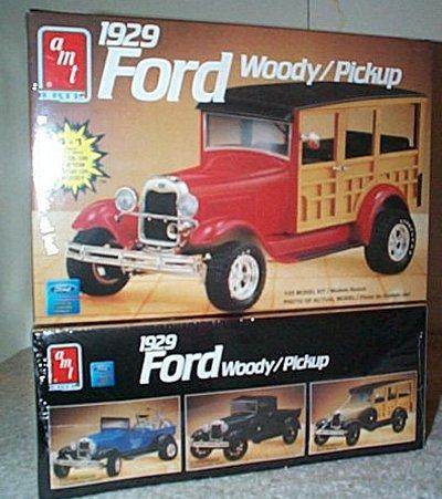 '29 Ford Woody/Pickup 4'n 1 Model Kit