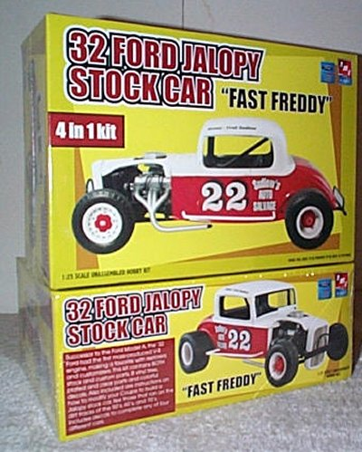 '32 Ford Jalopy Stock Car Model Kit
