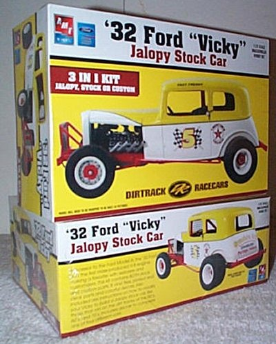 '32 Ford Vicky Jalopy Stock Car Model Kit