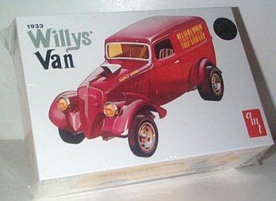 '33 Willys Van Drag Truck Model # 3