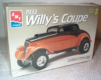 '33 Willys Coupe Plastic Model Kit