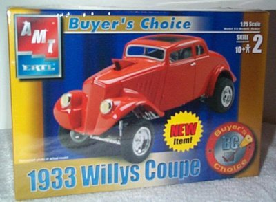 '33 Willys Coupe Buyer's Choice Model Kit