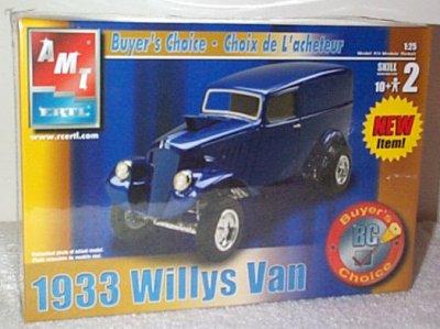 '33 Willys Drag Van Buyer's Choice Model