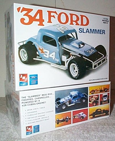'34 Ford Coupe Stock Car Model Kit
