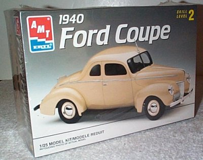'40 Ford Coupe 2'n 1 Model Kit