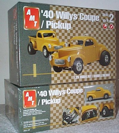 '40 Willys Coupe or Pickup Model Kit