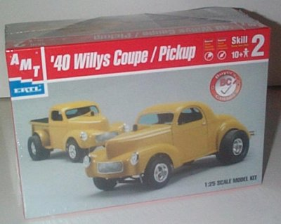 '40 Willys Coupe/Pickup Model Kit