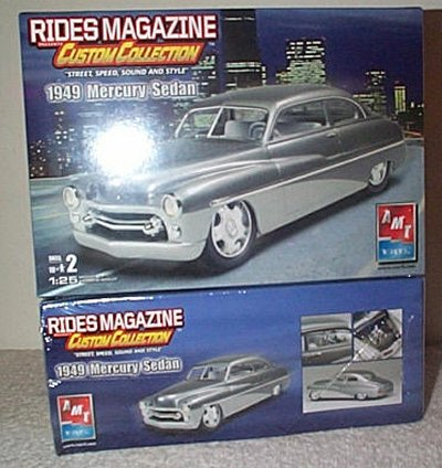 '49 Merc Rides Mag. Custom Collection