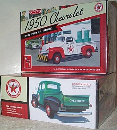 '50 Chevy Texaco Pickup Model Kit
