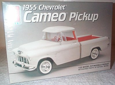 '55 Chevy Cameo Pickup Model Kit