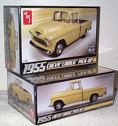 '55 Chevy Cameo Pickup Truck Model Kit