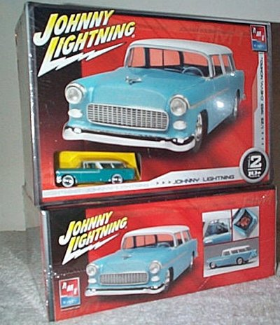 '55 Chevrolet Nomad S/W with Car Model