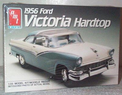 '56 Ford Crown Victoria Hardtop Model Kit