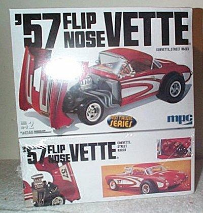 '57 Chevy Corvette Flip Nose Street Racer
