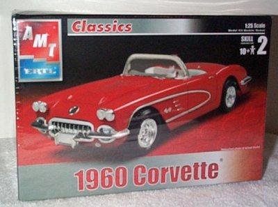 '60 Chevrolet Corvette Model Kit