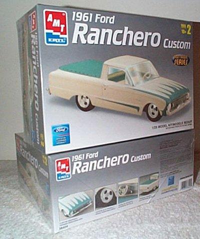 '61 Ford Falcon Ranchero Custom Model Kit