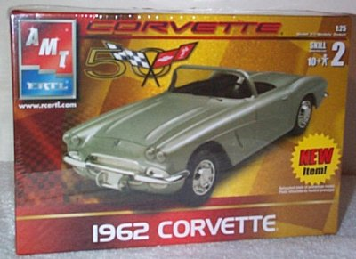 '62 Chevrolet Corvette Model Kit