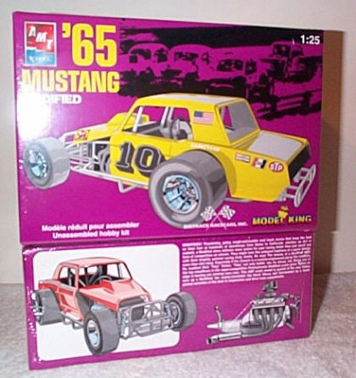 '65 Mustang Modified Stock Car Model