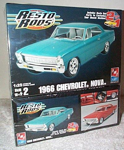 '66 Chevrolet Nova 2'n 1 Resto Rod Model K