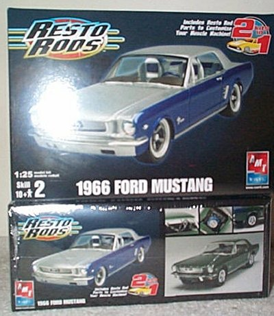 '66 Ford Mustang Resto Rod Model Kit