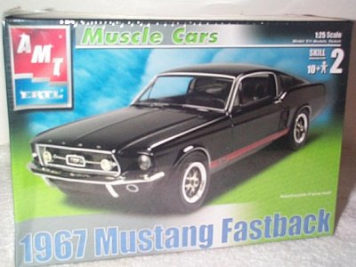 '67 Ford Mustang Fastback Model Kit