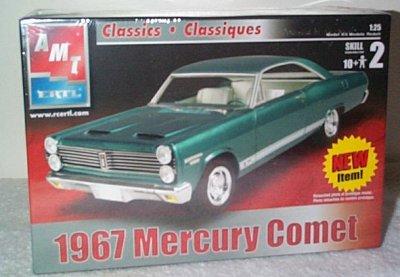 '67 Mercury Comet 2 Door Hardtop Model Kit