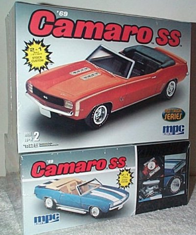 '69 Chevy Camaro SS Convertible Model Kit