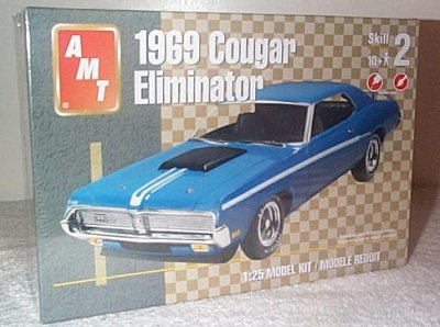 '69 Mercury Cougar Eliminator Model Kit