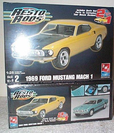'69 Ford Mustang Mach 1 2'n 1 Resto Rod