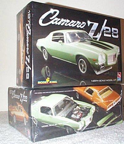 '70 1/2 Chevy Camaro Z/28 Model King