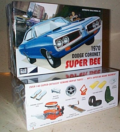 '70 Dodge Coronet Super Bee MPC Model