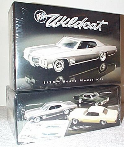 '70 Buick Wildcat Model King Model Kit