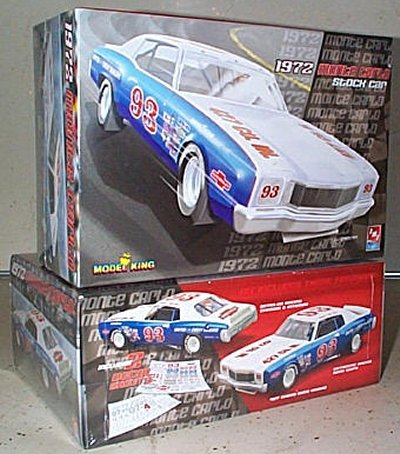 '72 Chevy Monte Carlo Stock Car Model King