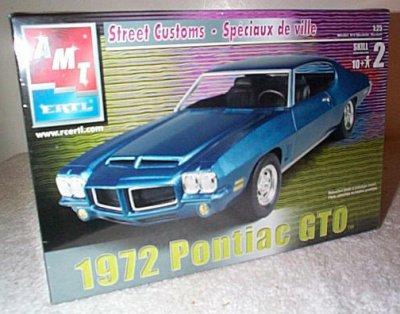 '72 Pontiac GTO Street Custom Model Kit