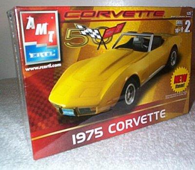 '75 Chevrolet Corvette Model Kit