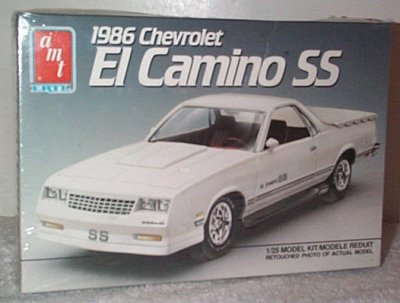 '86 Chevrolet El Camino SS Model Kit