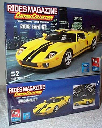 '05 Ford GT Rides Magazine Model Kit