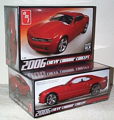 '06 Chevy Camaro Model Kit By AMT
