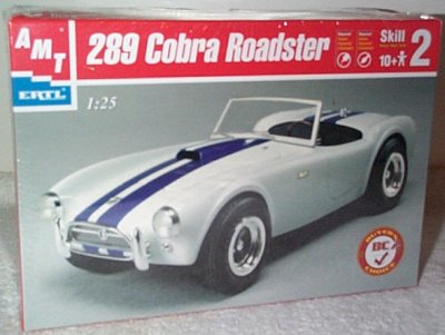289 Cobra Roadster Model Kit