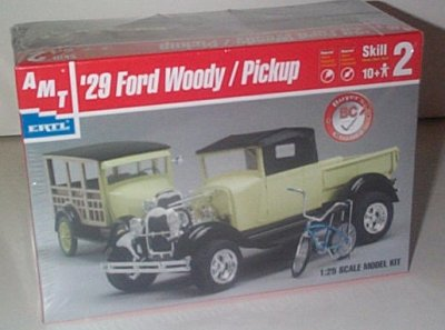'29 Ford Model A Woody S/W or Pickup Model