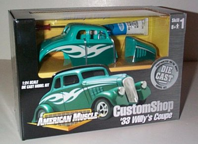 '33 Willys Coupe Street Rod P/P Model Kit
