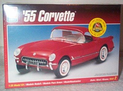 '55 Chevrolet Corvette Model Kit