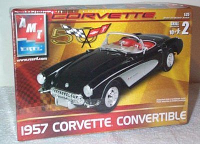 '57 Chevrolet Corvette Convertible Model Kit