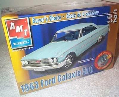 '63 Ford Galaxie 2 Dr.Ht. Model Kit