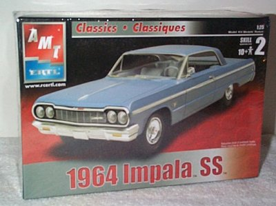 '64 Chevrolet Impala SS Model Kit