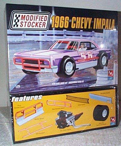 '66 Chevy Impala Modified Stocker Model Kit