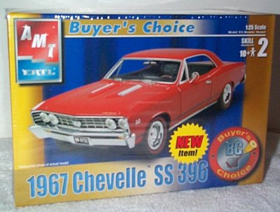 '67 Chevelle SS396 Buyer's Choice Model