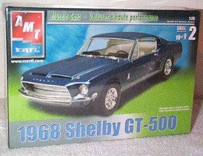 '68 Ford Mustang Shelby GT-500 Model Kit